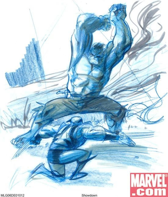 Concept Art Shows The Makings Of Hulk's Biggest Brawls