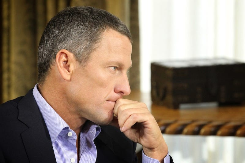 Lance Armstrong Sees A Lot Of Bill Clinton In Himself