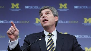 Report: Michigan's Incompetent Moron AD Set To Resign