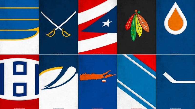 Minimalist NHL Logos Might Be Even Better Than The Real Things
