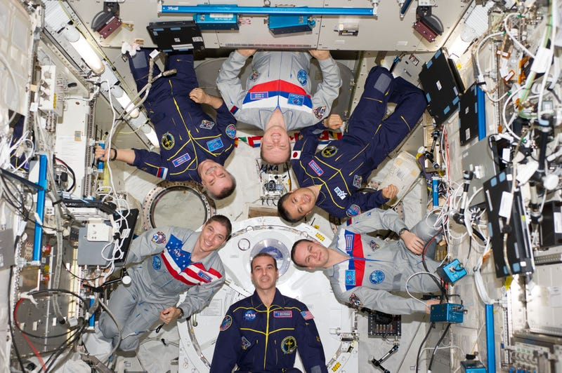 How does political tension affect astronauts aboard the ISS?