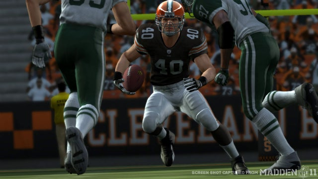Peyton Hillis is Madden NFL 12's Cover Star
