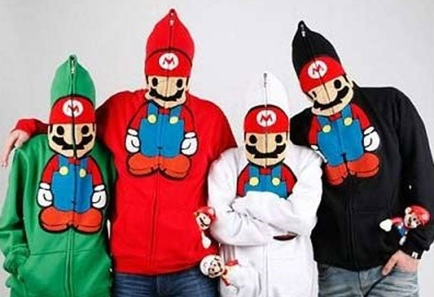 The Devil Made These Mario Hoodies