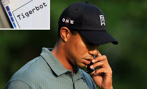 Tiger Woods Will Sext With You Now
