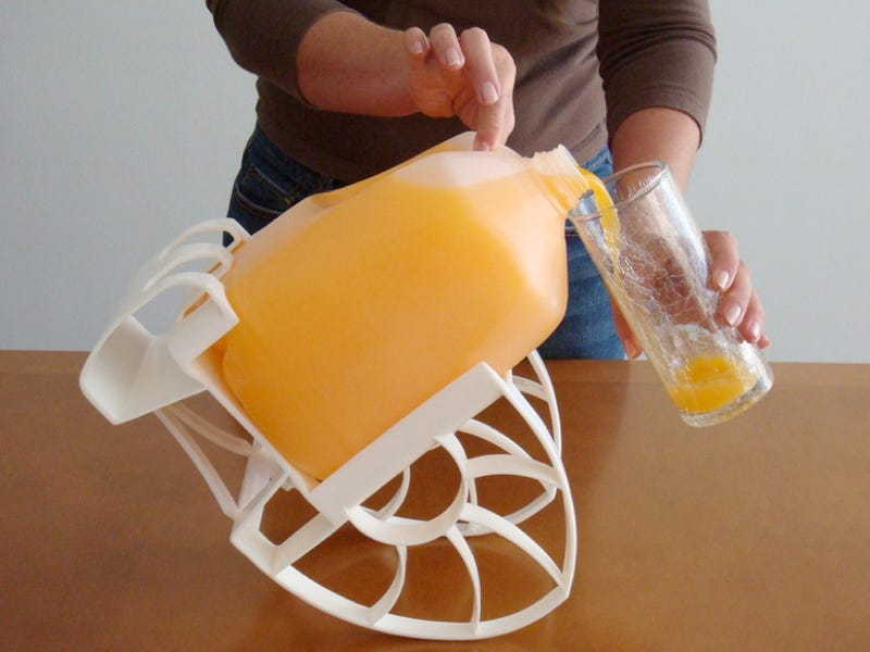 Roll n' Pour: A Rocking Chair For Your Gallon Jugs