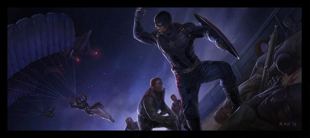 New Concept Art Shows the Dark Beauty of the Marvel Universe