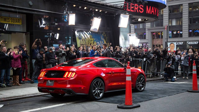 Road and Track has the first pictures of the Mustang I Like