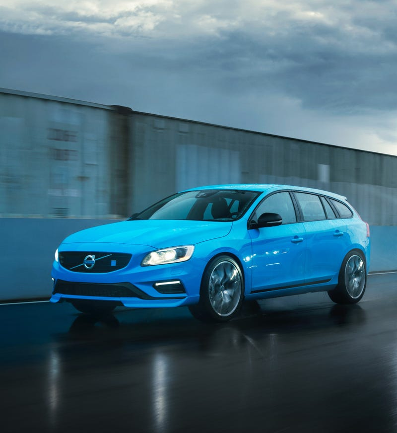 World Debut For The New Volvo V60, Engineered By Polestar