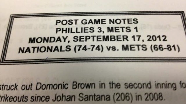 Even The Mets' PR Staff Is Giving Up