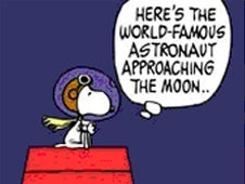 Snoopy Celebrates 40th Anniversary Of Lunar Mission