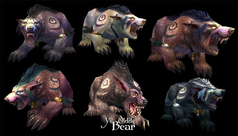Night Elf Druid Bears Shall Look Like This