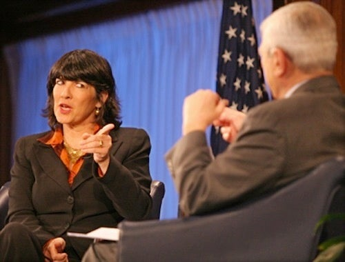 Christiane Amanpour To Host This Week