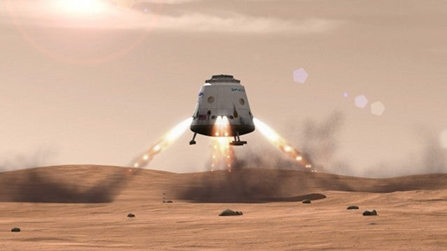 SpaceX founder unveils plan to send 80,000 people to Mars