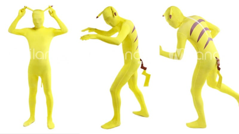 These Pikachu and Mario Skin Suits Cover You From Head to Toe