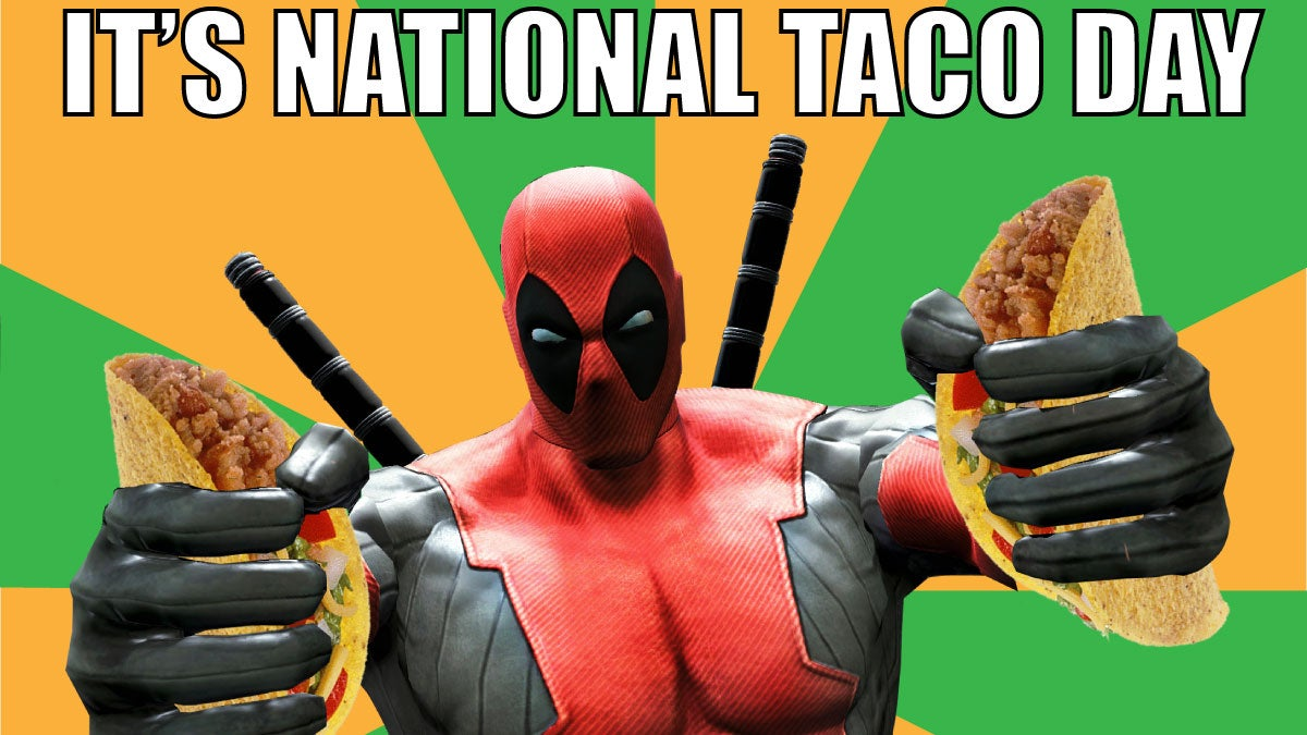 Psa it s national taco day why are you sitting there not eating