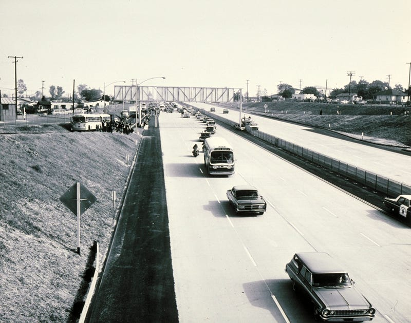 Photos: When Southern California's Freeways Were New (and Empty)