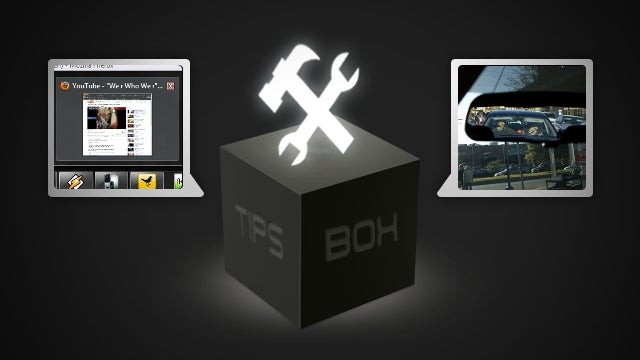 From the Tips Box: Flash Resources, Rearview Mirrors, and Screensaver Hotkeys