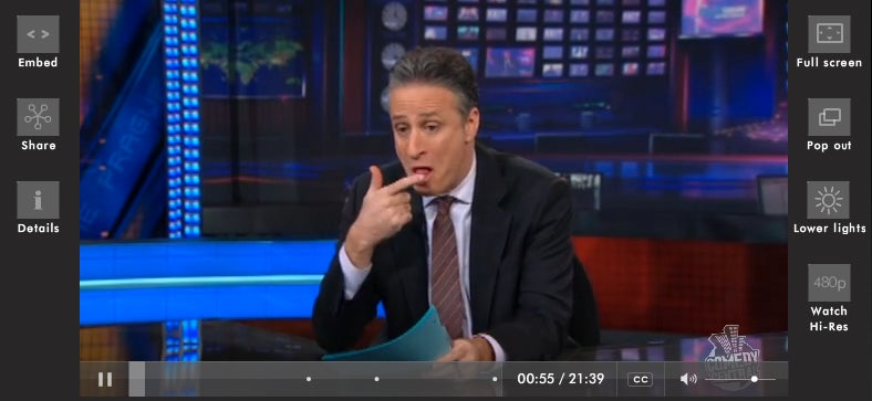 "Viacom Pulling ""The Daily Show"" and ""The Colbert Report"" From Hulu"