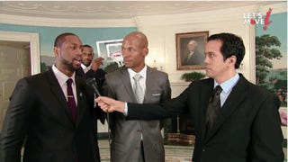 Watch Michelle Obama Dunk on the Miami Heat
