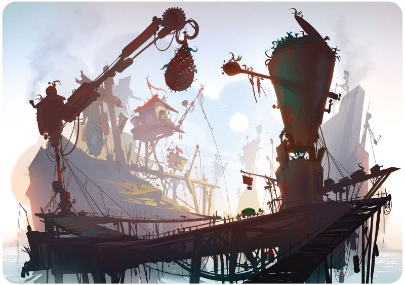 The Breathtaking Concept Art of Ratchet & Clank: All 4 One