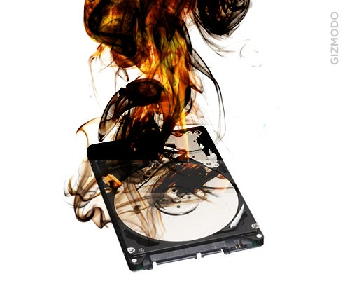 This Hard Drive Will Self-Destruct In Five Seconds