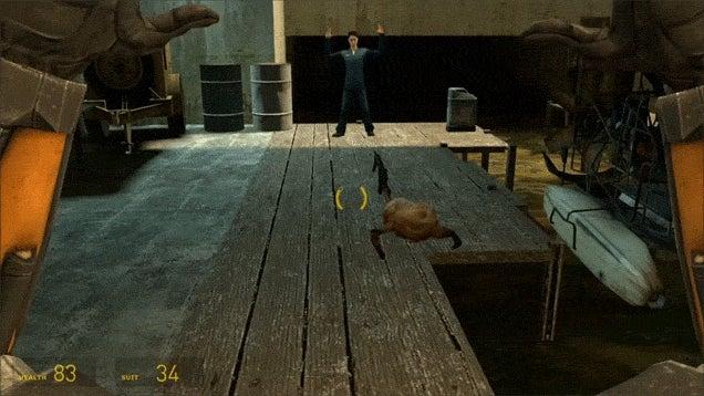 Fan Turns Half-Life 2's Headcrab Into A Gun-Wielding Criminal