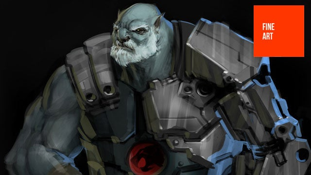 Thundercats, and Concept Art, Ho!