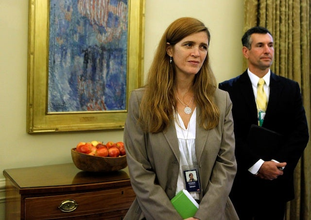 Enough With Samantha Power's Flowing Red Hair