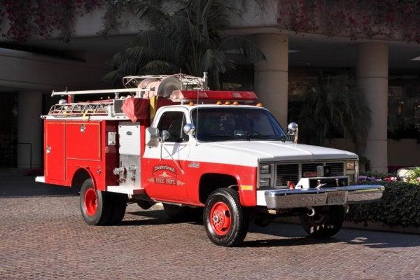 Michael Jackson's Creepy Neverland Fire Engine