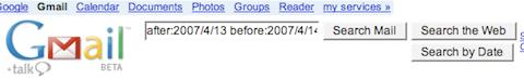 LH Code: Gmail Date Search (Greasemonkey user script)