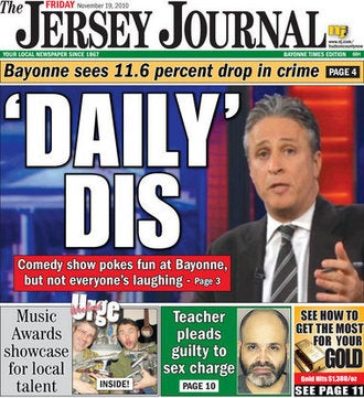 'Daily Show' Hurts New Jersey City's Feelings