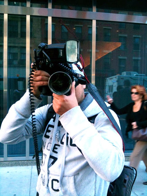 The Day I Trailed A Paparazzo