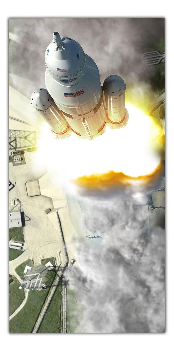 What NASA Isn't Saying In NASA's Big Rocket Announcement