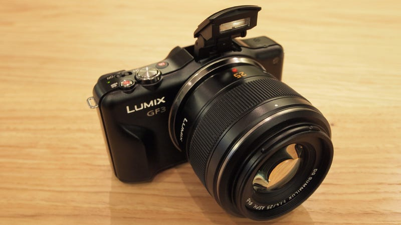 Panasonic Ditches the Hotshoe For the Beginners' GF3: Hands On
