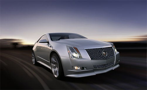 2011 Cadillac CTS-V Coupe Is Go, Coming In May