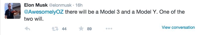 Tesla Motors CEO Elon Musk Is Too S3XY