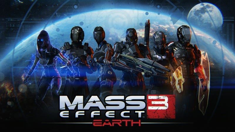 Mass Effect 3's Free New DLC Brings Maps And Weapons To Multiplayer Next Week