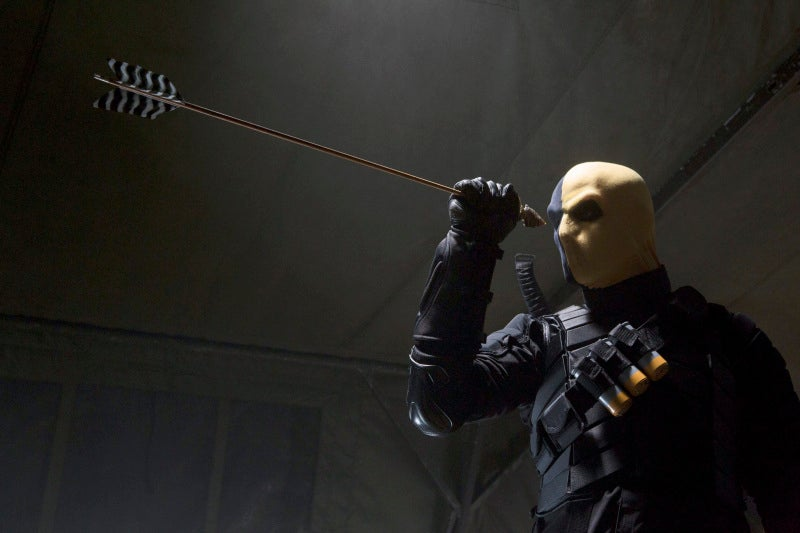 On Arrow the villain we've been waiting for arrives