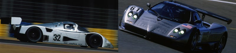 Separated at Birth: Pagani Zonda Vs. Mercedes-Benz C11