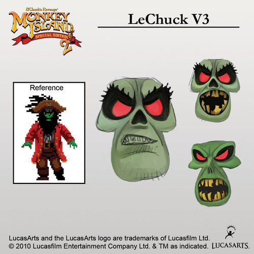 Building A Better Ghost Pirate LeChuck