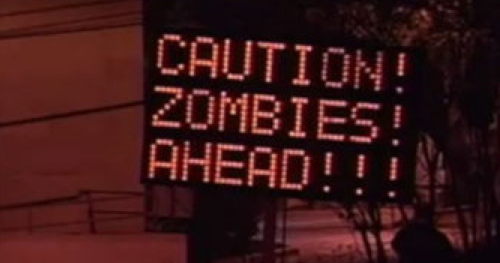 Car full of zombies crashes in Portland, baffles police and onlookers