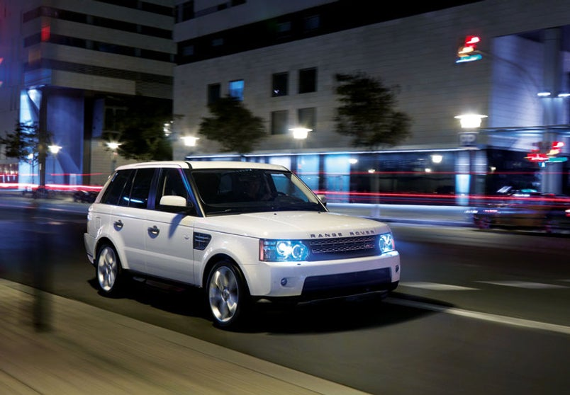2010 range rover sport gets 510 hp supercharged v8. Black Bedroom Furniture Sets. Home Design Ideas