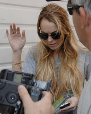 Lindsay Lohan: Don't Ask Me About My Sister's Chest