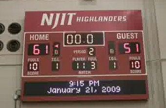 Break Up The Highlanders! NJIT Wins!