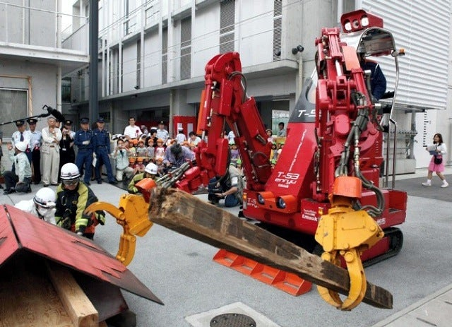 Venerable Enriyu Robot to the Rescue at Fukushima?