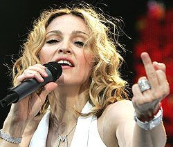 Polish Catholics Protest Madonna; Danny Drunk Again On Morning TV