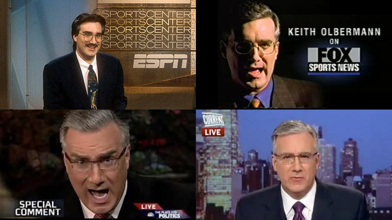 Who's More Unprofessional: Keith Olbermann Or His Last Four Employers?