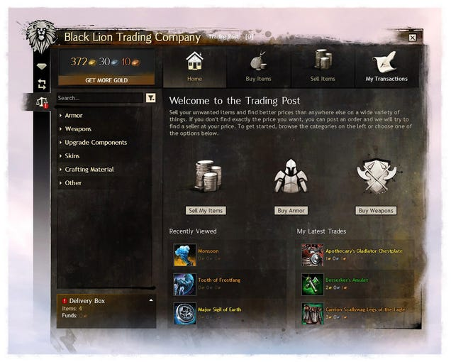 They're Finally Making Guild Wars 2's Auction House Less Awful