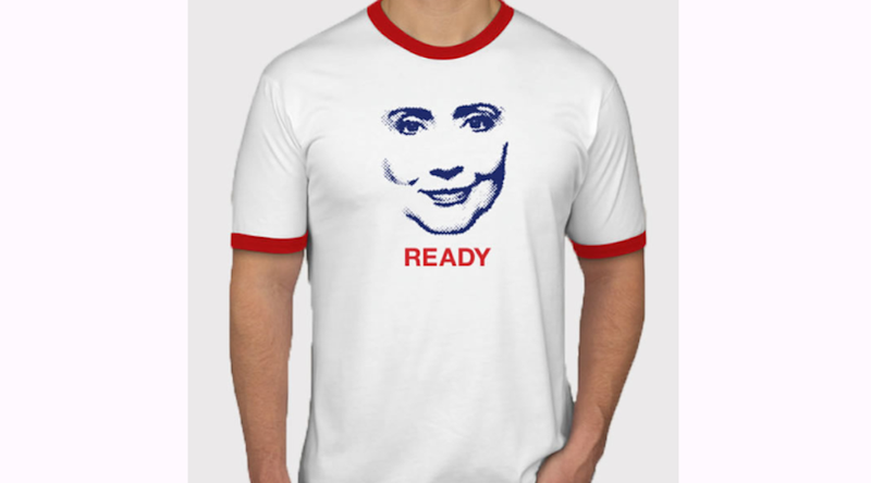 Pro-Hillary Clinton PAC Wants to Put Hil's Face On Your Boobs