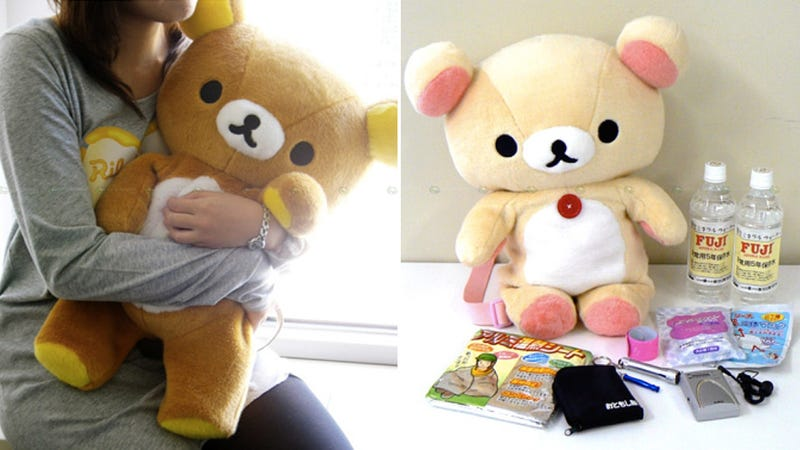 This Emergency Bear Will Provide More Than Comfort in a Natural Disaster